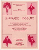 Artist: UNKNOWN | Title: Ladies Rooms - documentary Filmakers' Cooperative. | Date: 1977-79 | Technique: screenprint