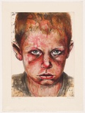 Artist: HOOD, Cherry | Title: Jack. | Date: 2002 | Technique: etching and spit-bite aquatint, printed in colour, from three plates
