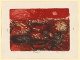 Artist: SEIDEL, Brian | Title: Wildfire | Date: 1964 | Technique: lithograph, printed in colour, from three stones | Copyright: This work appears on screen courtesy of the artist and copyright holder