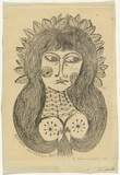 Artist: HANRAHAN, Barbara | Title: Miranda | Date: 1960 | Technique: lithograph, printed in black ink, from one stone