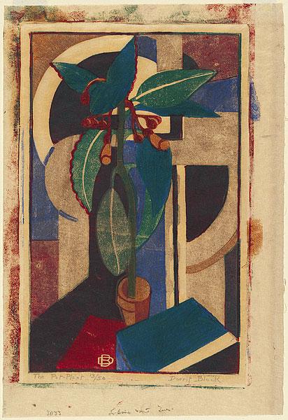 The Pot Plant 1933 By Dorrit Black 1891 1951